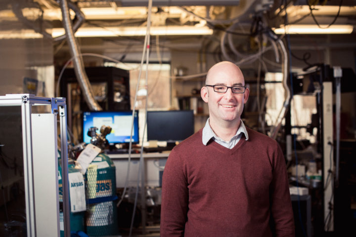 Jesse Kroll examines how pollutants change chemically as they move