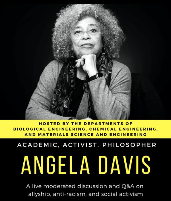 A Live Discussion with Angela Davis